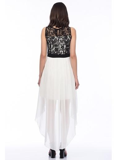 Fiyonk Kemerli Abiye Elbise-İroni